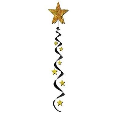 Jumbo Star Whirls, 4', 3/Pack