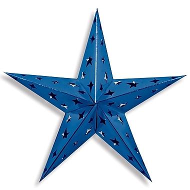 Étoiles 3 dimensions en aluminium, 3/paquet
