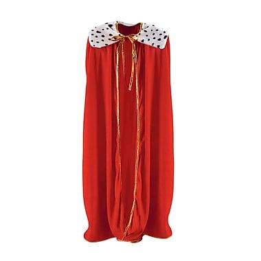Robe de roi/reine pour adulte, 4 pi 4 po