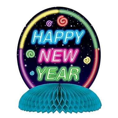 Happy New Year Centerpieces, 4/Pack