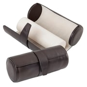 Royce Leather Deluxe Watch Roll, Black