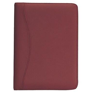 Royce – Porte-documents Junior d'écriture en cuir, bourgogne (743-BURG-5)