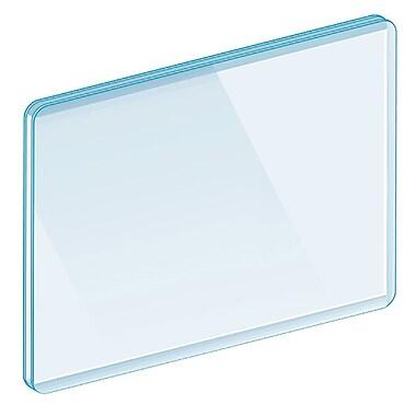 KostklipMD – Panneau protecteur fermé sur trois côtés, transparent, paquet de 25