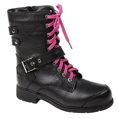 Moxie Trades Amelia Ladies CSA/ESR Motorcycle Leather Work Boots, Black