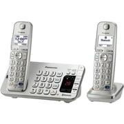 Panasonic KX-TGE27 Single Line Cordless Bluetooth Enabled Phone, Silver