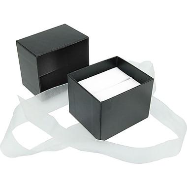 Gunther Mele Ltd. – Boîtes à bijoux Velocity, noir, 50/paquet