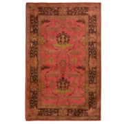 Lanart Medieval Area Rug, Red