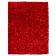 Lanart Metro Silk Area Rug, Red