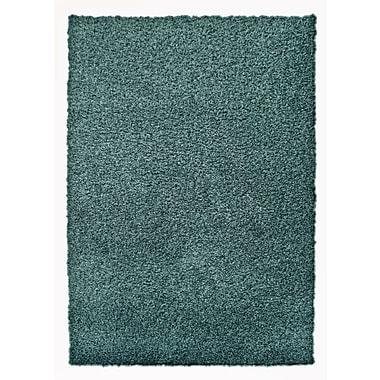 Lanart – Tapis décoratif à poil long Modern, bleu turquoise