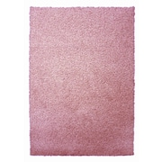Lanart Modern Shag Area Rug, Pink Flamingo