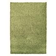 Lanart Modern Shag Area Rug, Green Keylime