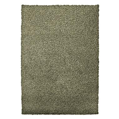 Lanart – Petit tapis moderne à poil long, vert origan