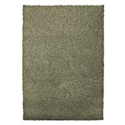 Lanart Modern Shag Area Rug, Green Oregano