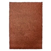 Lanart Modern Shag Area Rug, Orange