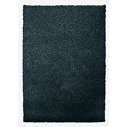Lanart Modern Shag Area Rug, Blue Sailor