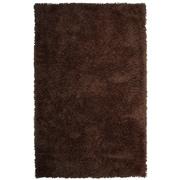 Lanart Soft Shag Area Rug, Brown