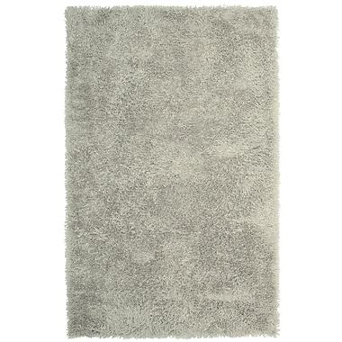Lanart – Tapis moderne doux à poil long, gris