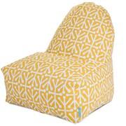Majestic Home Goods Indoor/Outdoor Aruba Polyester Kick-It Bean Bag Chairs