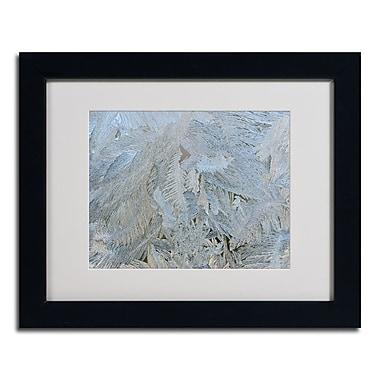 Trademark Kurt Shaffer White Matte W/Black Frame