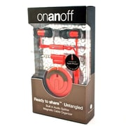 Onanoff Magnum Earbuds with Magneat