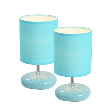 All the Rages Simple Designs LT2005-2PK Stonies Lamp