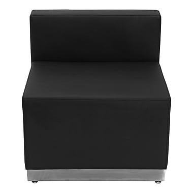 Flash Furniture – Chaise en cuir souple Alon