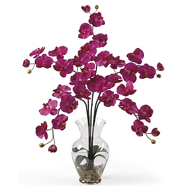 Nearly Natural 1106 Phalaenopsis Silk Floral Arrangements