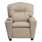Flash Furniture Contemporary Vinyl Kids Recliners W/Cup Holder