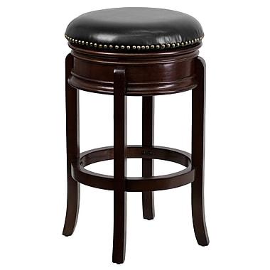 Flash Furniture – Tabouret de comptoir en cuir de 25 po sans dossier