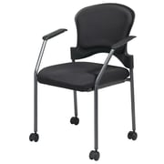 Office Star Proline II® Fabric Rolling Guest Chairs