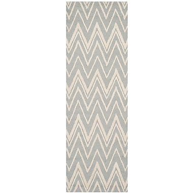Safavieh Helen Cambridge Grey/Ivory Wool Pile Area Rugs