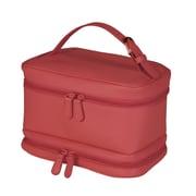 Royce Leather – Sac de voyage pour produits de beauté, rouge