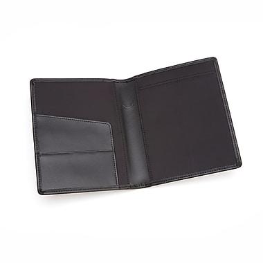 Royce Leather – Étui pour bloc d'ordonnance, noir