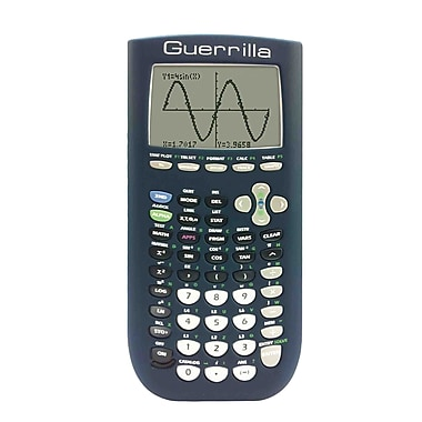 Guerrilla® Silicone Cases For Texas Instruments TI 84 Plus Graphing Calculator
