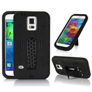 GearIT Galaxy S5 Rugged High Impact Hybrid Armor Case Cover Stand