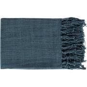 "Surya TID001-5951 59"" x 51"" 100deg Cotton Throw"