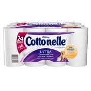 Kleenex Cottonelle Double Roll Toilet Paper, 24 Rolls/Pack
