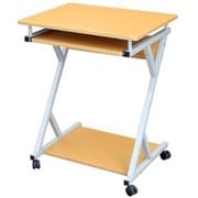 Hodedah HIS828 Modern Wood/Metal Computer Desk