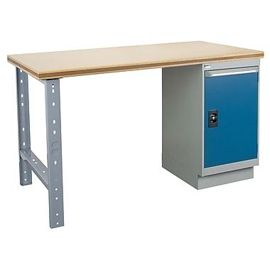 Kleton Workbench, Shop Top, 1 Pedestal and 1 Door