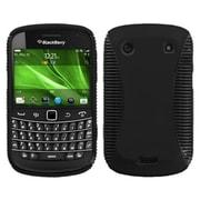 Insten® Rubberized Phone Faceplate Cases For BlackBerry 9900/9930