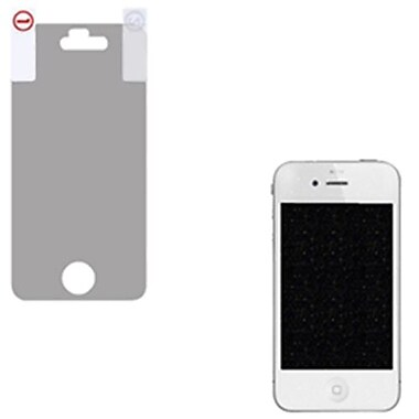 Insten® Glitter LCD Screen Protectors For iPhone 4
