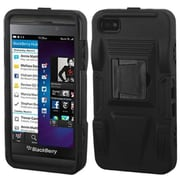Insten® Rubberized Advanced Armor Stand Protector Covers For BlackBerry Z10