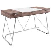 Modway EEI-1321 Contemporary Metal/Melamine/MDF Writing Desk