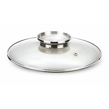 Pensofal - Couvercles en verre Aroma avec bouton en acier inoxydable