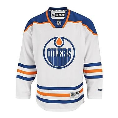 Reebok – Chandail des Oilers d'Edmonton de qualité supérieure (sur la route)