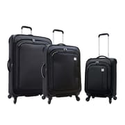 Samboro Feather Lite 3-Piece Expandable Spinner Luggage Sets