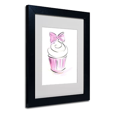 Trademark Jennifer Lilya White Matte With Black Frame