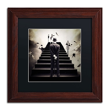 Trademark Erik Brede Black Matte W/Wood Frame