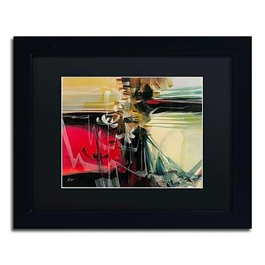 Trademark Andrea Black Matte With Black Frame