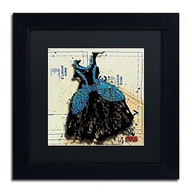 Trademark Roderick Stevens Black Matte With Black Frame